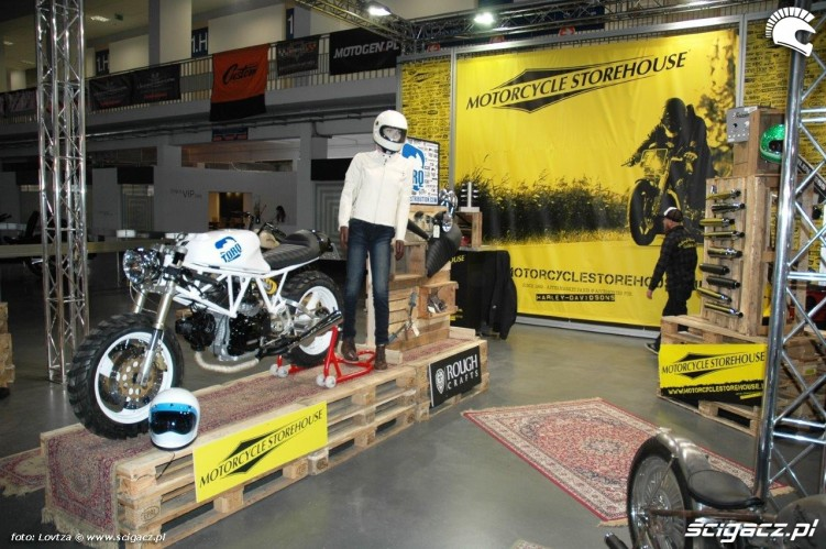Motorcycle Storehouse Motor Show Poznan 2015