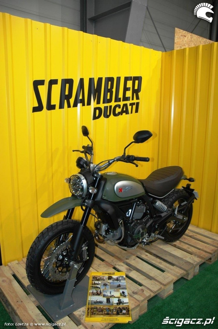 Nowy Scrambler Motor Show Poznan 2015