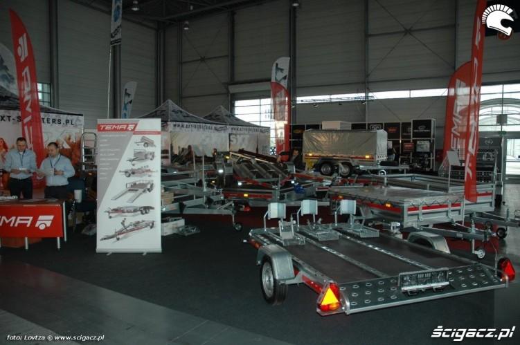Przyczepy Motor Show Poznan 2015
