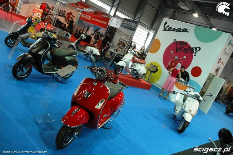 Skutery Motor Show Poznan 2015