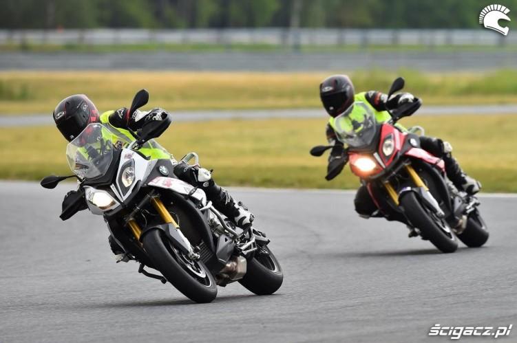 California Superbike School Poznan tempo