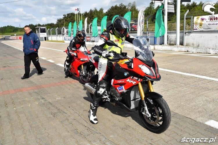 California Superbike School Poznan wyjazd