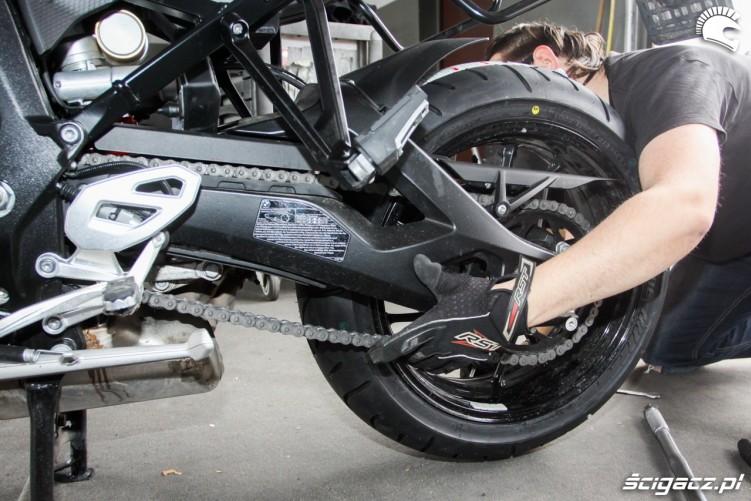 sprawdzenie naciagu Bridgestone T30 Scigacz pl