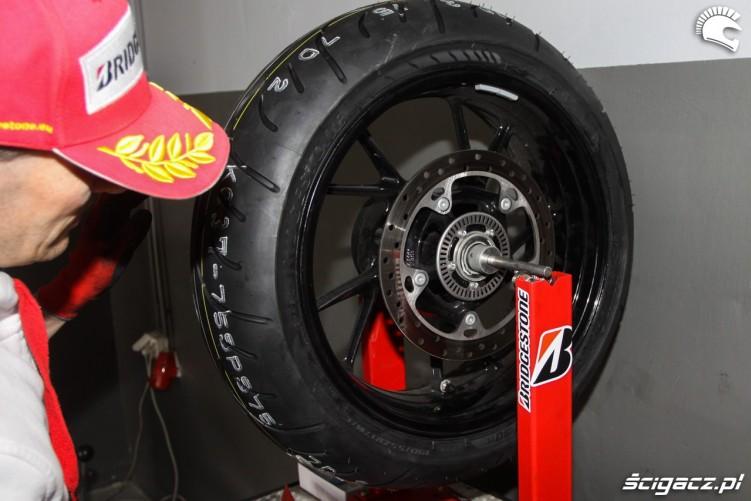 wywazanie Bridgestone T30 Scigacz pl