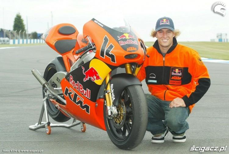 2005 KTMs 250cc GP Anthony West
