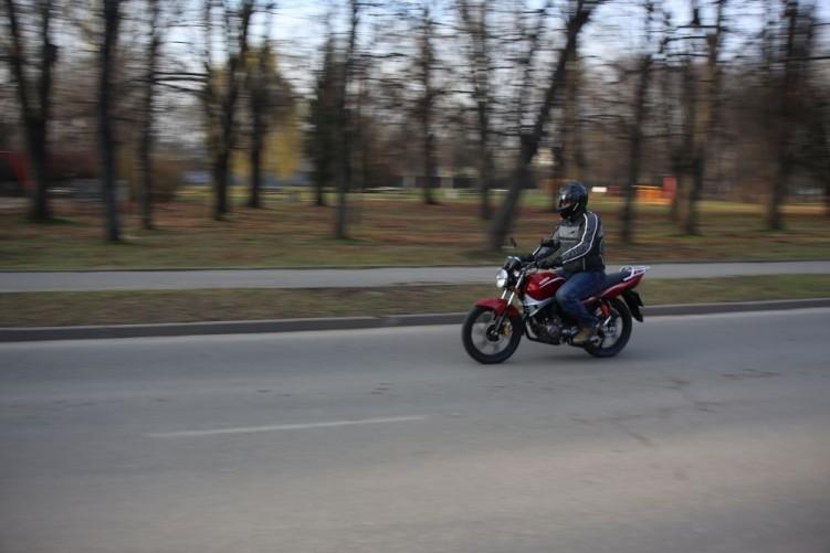 Zdjęcia: Kymco Pulsar 125 09 - Kymco Pulsar 125 budzetowy
