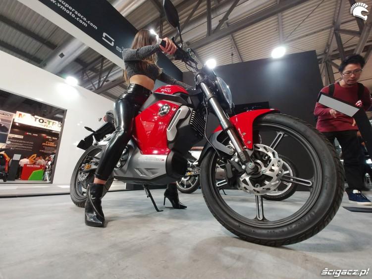 elektryczny motocykl super soco 2019