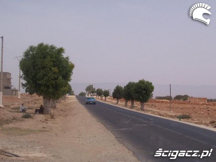 w Maroko bez swiatel