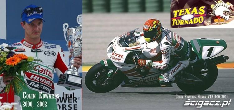 13 Colin Edwards Honda