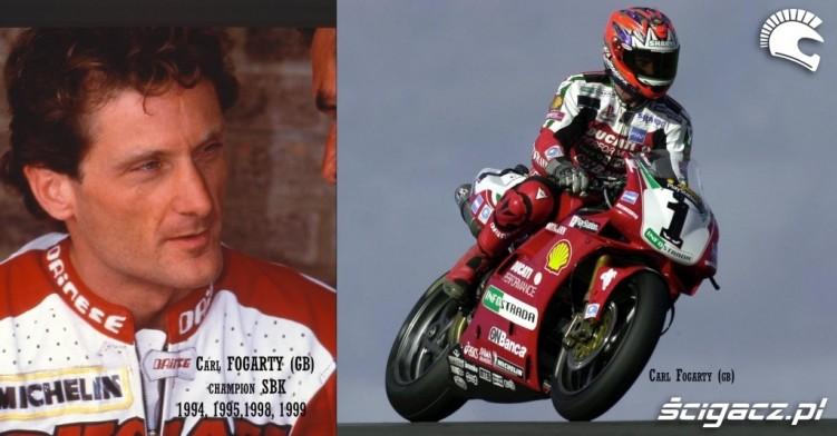 9 Carl Fogarty Ducati