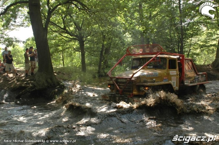 Krzysztof Ostaszewski przejazd rzeka