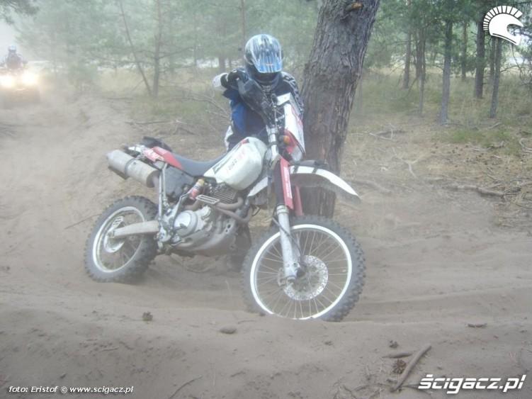 motocykl awaria