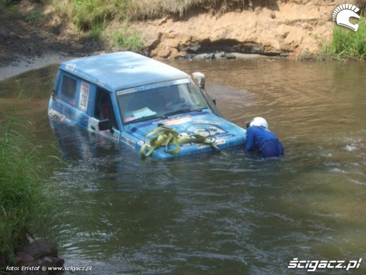 samochod utopiony