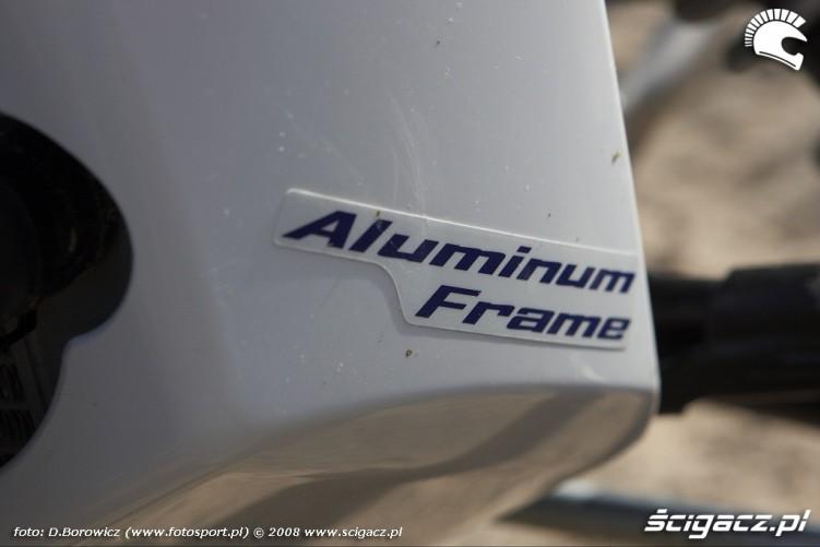 aluminium frame yamaha yfz450r model 2009 test a img 9102