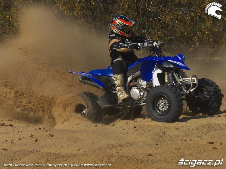 zawodnik yamaha yfz450r model 2009 test b mg 0082
