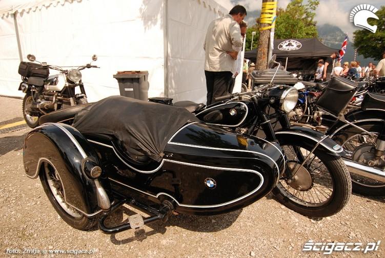 Zdjęcia Motocykl Bmw Z Koszem Bmw Motorrad Days 2013 90lecie