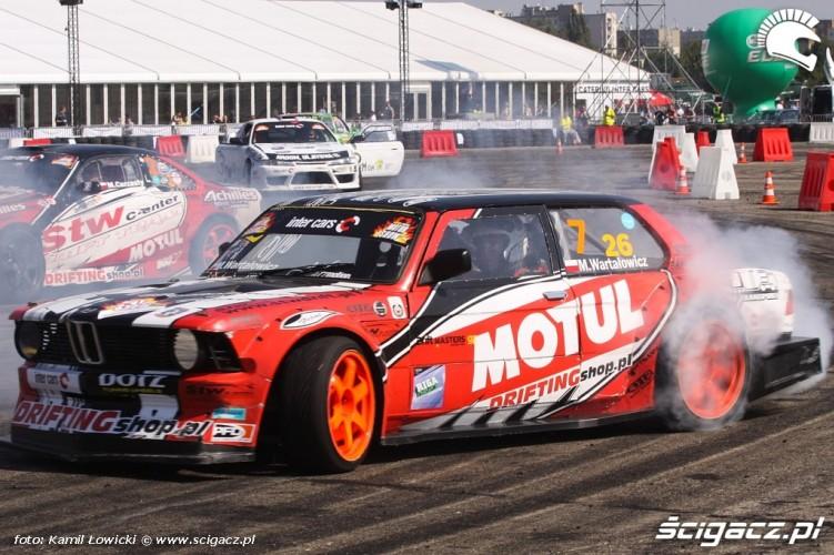 BMW drift Intercars Motor Show