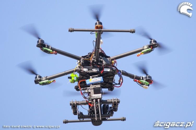 Dron Intercars Motor Show