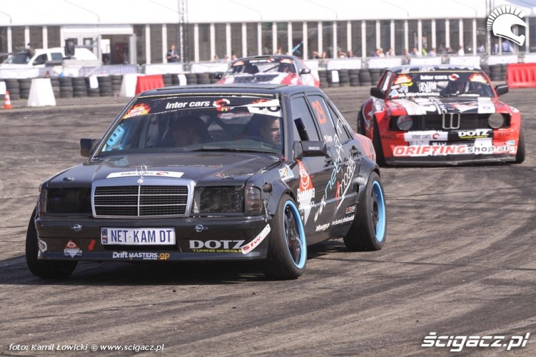 Mercedes drift Intercars Motor Show