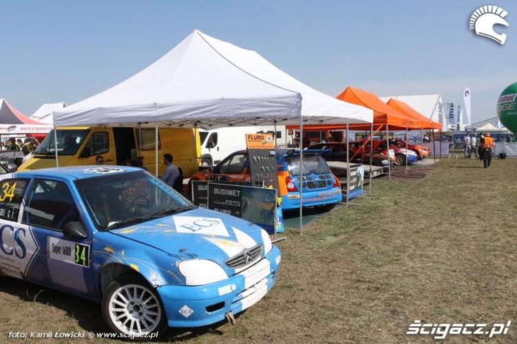 Stoiska Intercars Motor Show