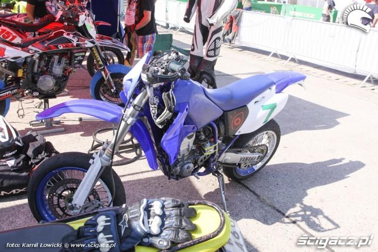 Yamaha DT Intercars Motor Show