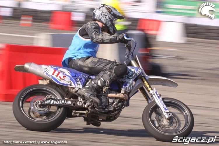 Yamaha Supermoto Intercars Motor Show