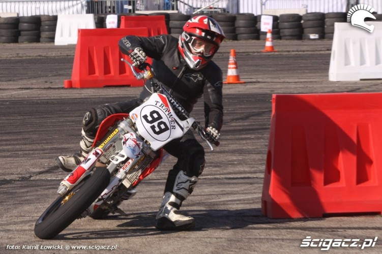 Zakret Supermoto Intercars Motor Show 2014