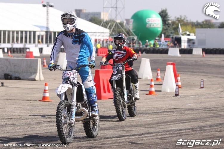 Zawodnicy FMX Intercars Motor Show