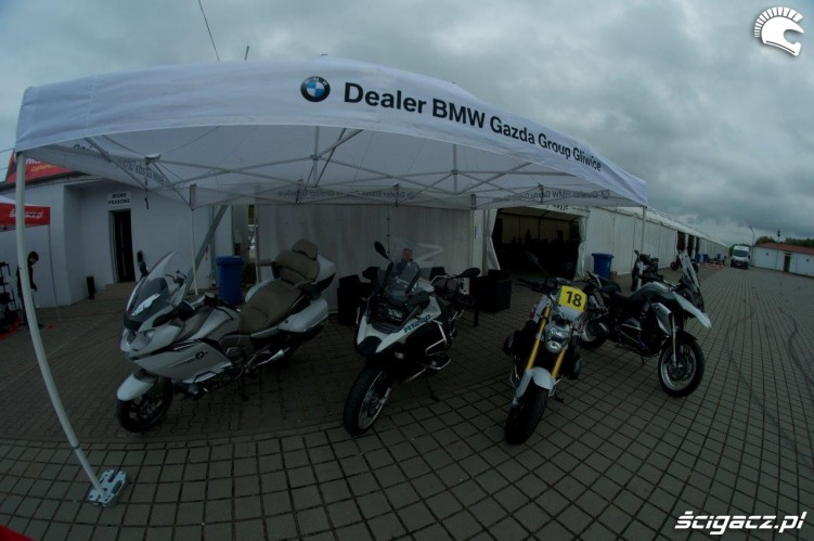 California Superbike School Gazda BMW