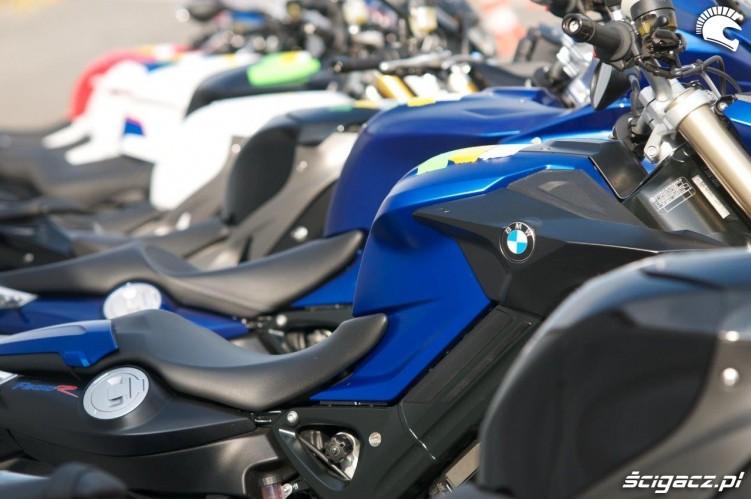 Motocykle BMW California Superbike School