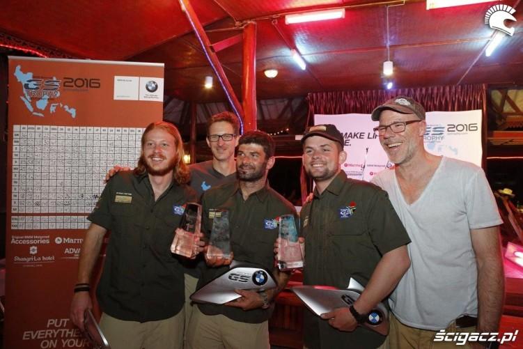 RPA winner Team GS Trophy 2016