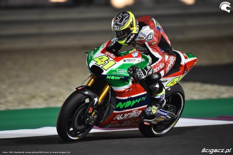 Motocyklowe Grand Prix Kataru 2017 aleix espargaro 7