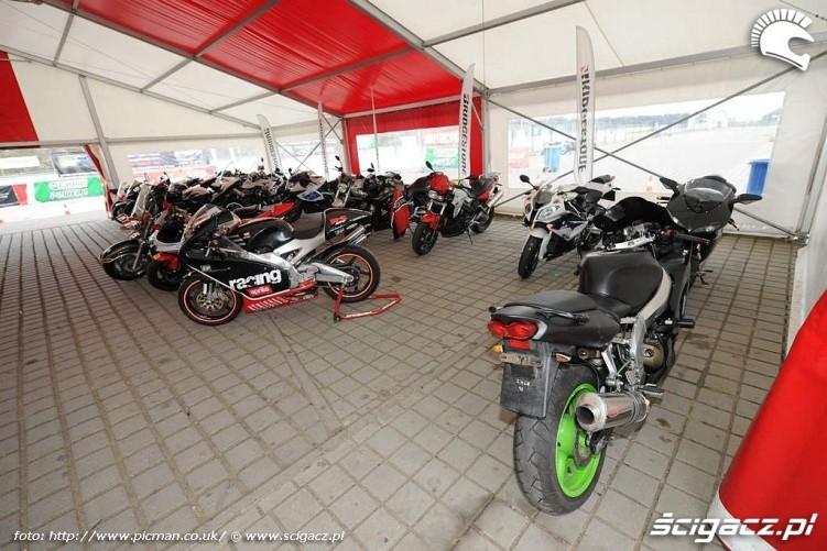 motocykle uczestnikow