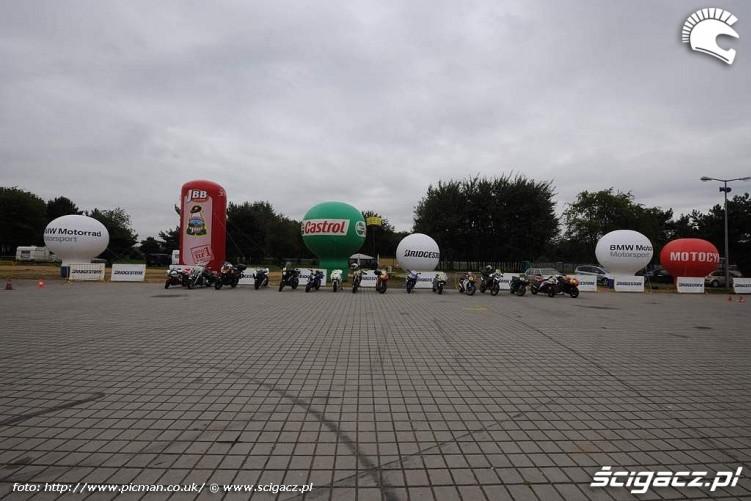 park motocykli