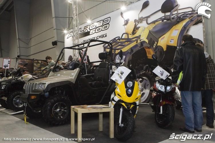 atv sweden pojazdy wystawa motocykli warszawa 2009 e mg 0179