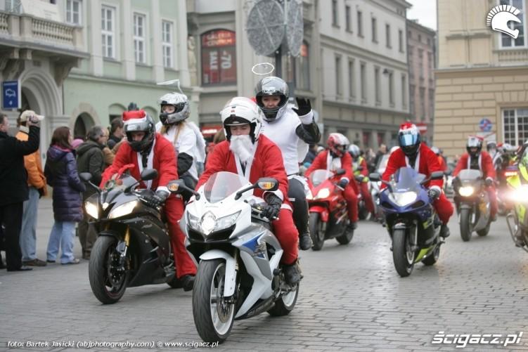 aniolki na motocyklach wjazd krakow 2009