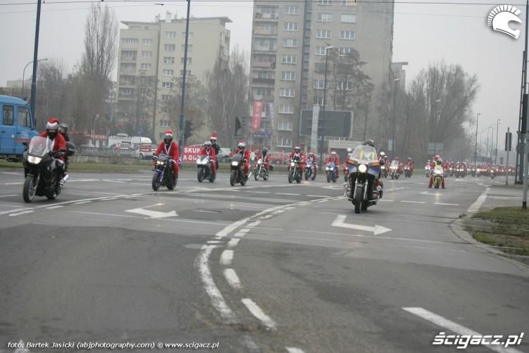 jazda ulicami krakowa