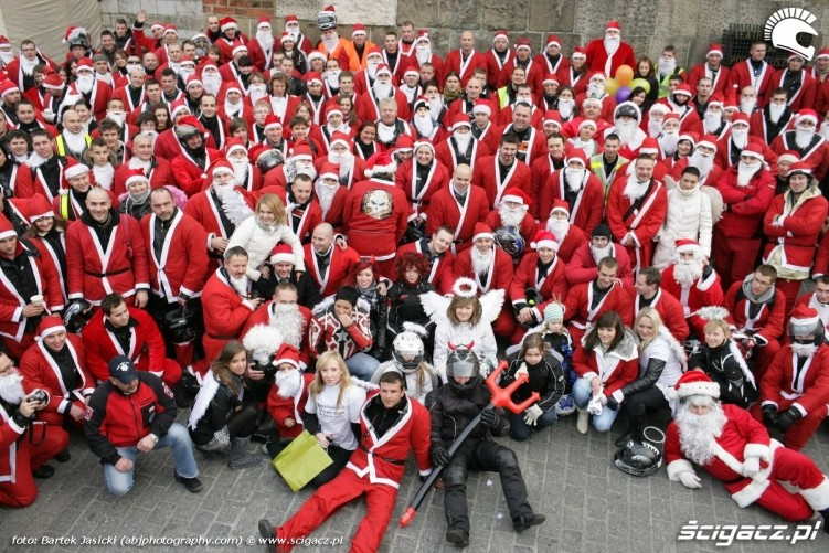 krakowscy motomikolaje razem 2009
