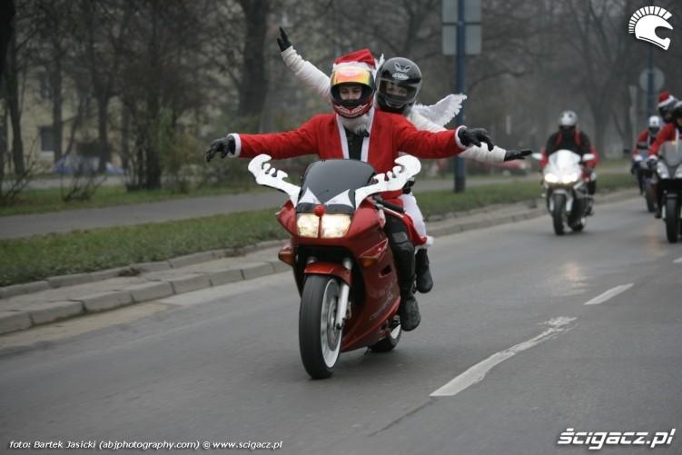 motomikolaje krakow 2009 VFR jako renifer