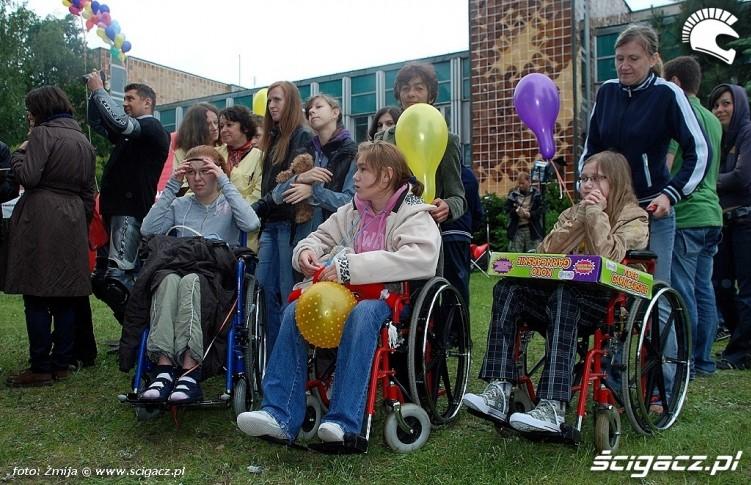 Dzieci z Centrum Zdrowia Dziecka