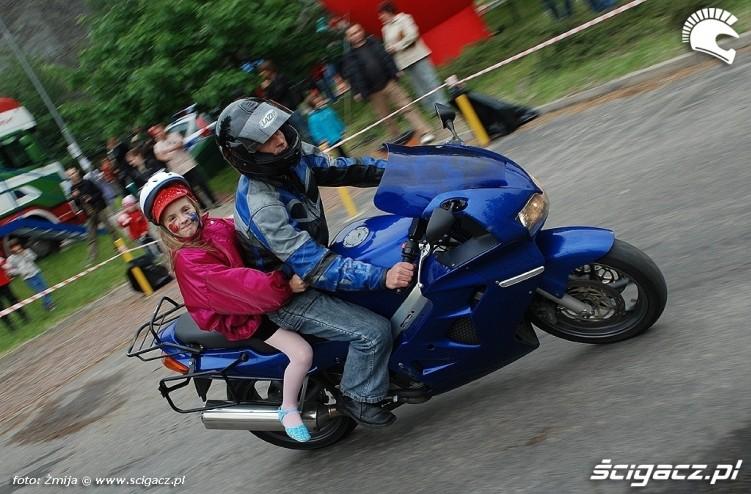 Motocyklowy dzien dziecka