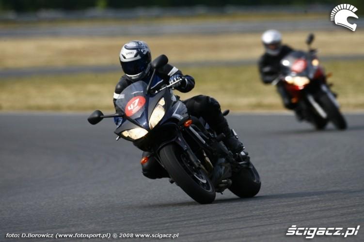 fazer jedzie yamaha riding experience 2008 poznan b mg 0215