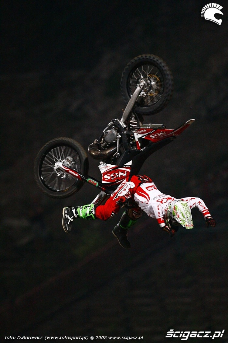 dany torres backflip no-hander no-footer x-fighters warszawa
