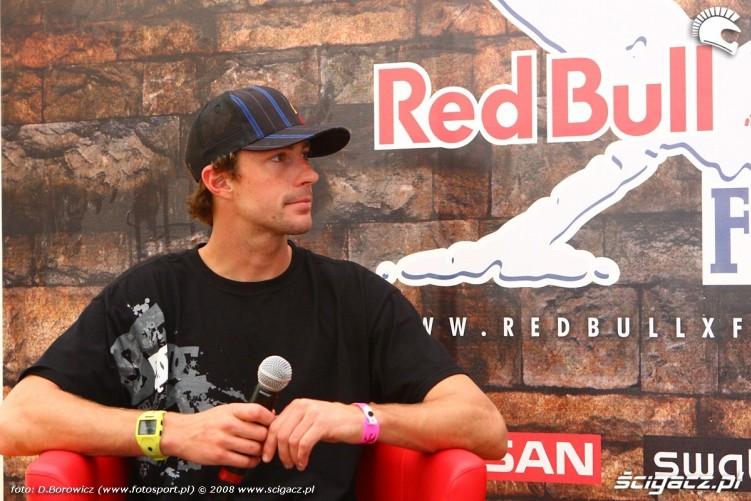 travis pastrana konferencja red bull x-fighters 2008