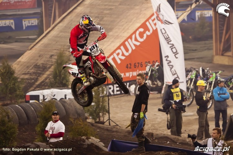 David Knight skok Super Enduro