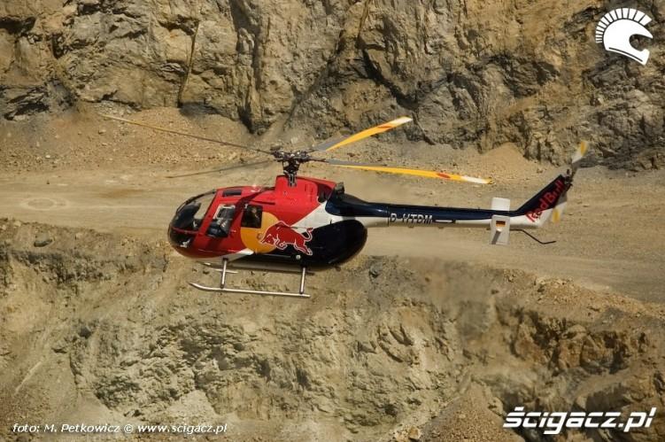 red bull helikopter
