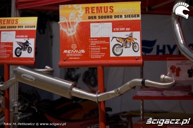 remus sport exhaust wydech tlumik