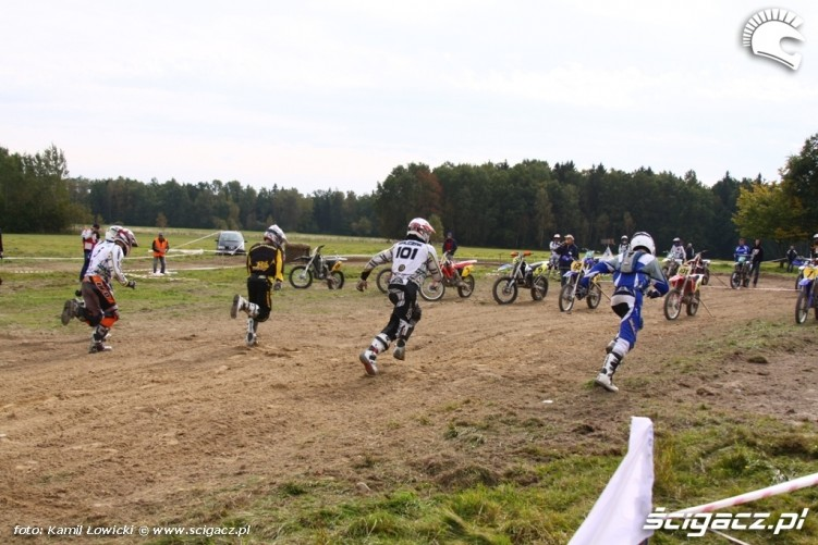 Cross Country Romanowka 2009 start