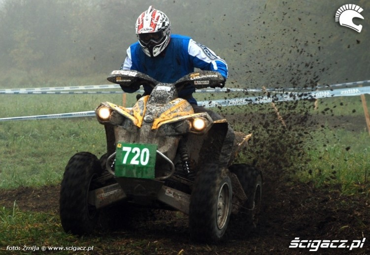 Mistrzostwa Polski Enduro 2008 jazda quadem
