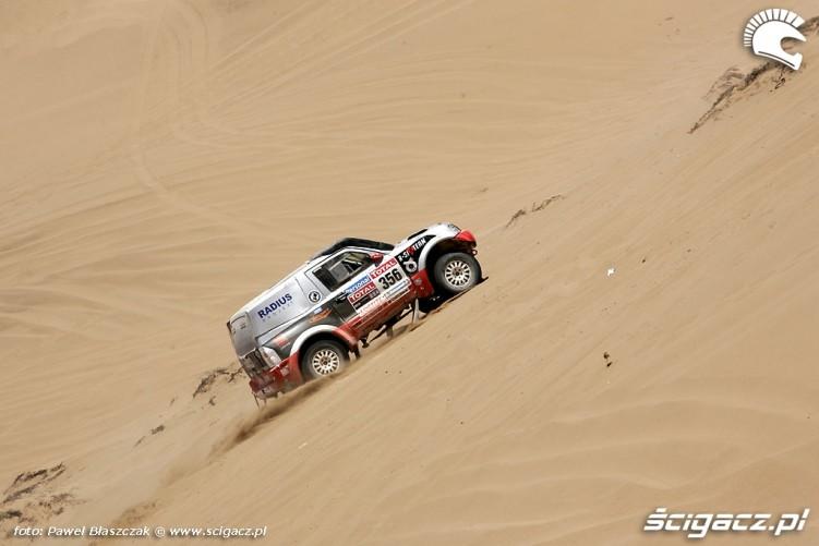 Polskie Mitsubishi Rajd Dakar 2010 opuszcza pustynie